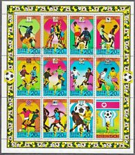 KOREA Pn. 1978 USED SC#1709a Sheet, History of the World Cup Footbal.