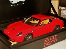 FERRARI 575 GTZ ZAGATO RED SUPER ELITE L7122  1:18