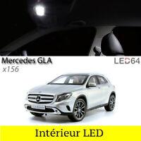 Kit 9 ampoules à LED pour l'éclairage intérieur Blanc Mercedes GLA x156