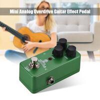 Twinote TUBE OVERDRIVE Mini Analog Overdrive Guitar Effect Pedal Processsor K8X4
