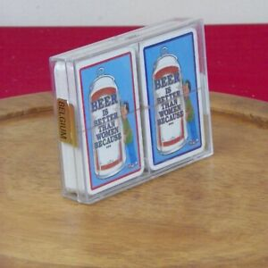 Vintage Beer is Better than Women Because Playing Cards 2 Decks Sealed
