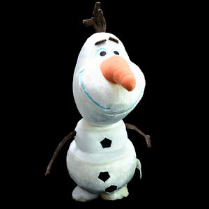 Disney Olaf The Snowman Frozen Talking Plush Battery Operated Toy 29cm