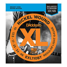 D'ADDARIO EXL110BT D'ADDARIO Nickel Wound Regular Light, 10-46