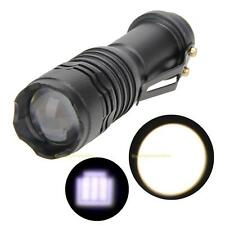 Super Bright 2500LM CREE T6 AA/14500 3 Modes Zoomable LED Flashlight Torch Lamp