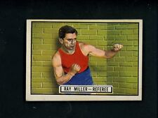 1951 Topps RINGSIDE # 64 Boxer Ray Miller EX+ condition Boxing