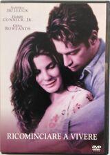 Dvd Ricominciare a vivere con Sandra Bullock 1998 Usato