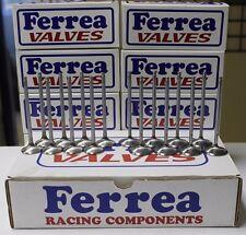 FERREA 5000 SERIES VALVES HONDA ACURA K20 K20A K20A2 K20A3 K20Z1 K20Z3 K-SERIES