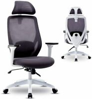 Computer Office Mesh Swivel Chair High-Back Executive Recliner Desk Task Seat