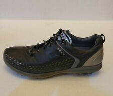New listing ECCO Biom Yak Leather Black Golf Shoes Sized 45, US 11-11.5 Pre-Owned