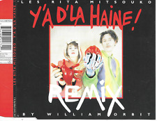 LES RITA MITSOUKO - Y'A D'La Haine (REMIX) CDM 4TR House 1993 France (DELABEL)