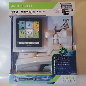 🆕 Outdoor Weather Station Ambient Forecast Acu-Rite Acurite Stations Kit Wifi