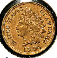"1904 P ""RPD SNOW 10"" Indian Head Penny Cent- Closely SUPERB GEM HIGH GRADE MS"