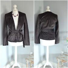 d5e6ba72d80 CACHAREL Designer velvet effect striped jacket, SMALL Appx 8, 35
