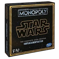 Monopoly Game Star Wars The Complete Saga Edition