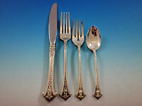 Classic Bouquet by Gorham Sterling Silver Flatware Set for 8 Service 37 pieces