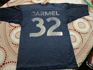 VINTAGE CARMEL #32 FOOTBALL JERSEY- MEDIUM 40 RARE HIGH SCHOOL COLLEGE