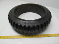 """U.S. 17-3/4""""x5""""x12-1/8"""" Press On Solid Rubber Traction Forklift Wheel Tire"""