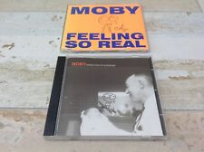 Moby Animal Rights Interview Promo CD + Filling So Real CD ( both signed)