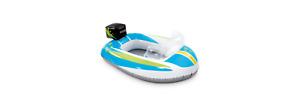 Intex Pool Cruiser Aufblasbare Babysitz Schwimmboot Rennboot Schwimmen Wasser