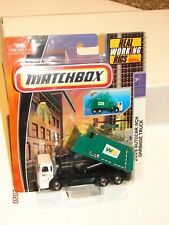 MATCHBOX Working Rigs WASTE MANAGEMENT 2009 Autocar ACX GARBAGE TRUCK *MOC*