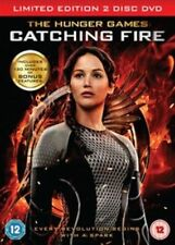 The Hunger Games - Catching Fire (DVD, 2-Disc Set) Damaged Sleeve