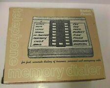 Automatic Telephone Memory Dialer - VTG 1983 Radio Shack DuoFone 100 - 43-279