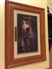 Terry Redlin Family Time Collage Collection Canvas Framed Oak