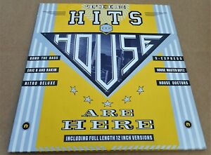 Various Artists: The Hits of House Are Here Bomb The Bass, S-Express 2 x LP's