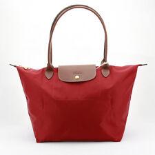 100% Authentic Longchamp Le Pliage Large Tote Bag Deep Red 1899089545