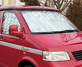 Thermomatten Wohnraum für VW T5 - mit Hartfaserverkleidung - kurzer Radstand