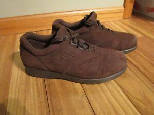 SAS Freetime TriPad Comfort Walking Shoes rown Suede Womens Size 8.5 WIDE #sh8