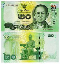 THAÏLANDE - 20 baht 2013 Pnew Hors-circulation ( Billets de banque )