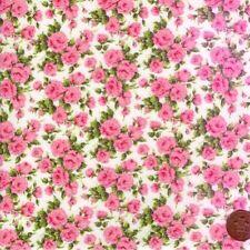 Telas y tejidos color principal blanco 145 cm para costura y mercería