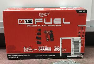 Milwaukee 2505-22 Installation Drill/Driver Kit NEW #2