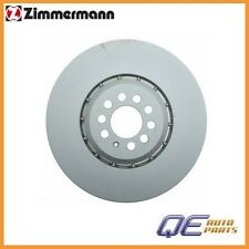 Front Left Disc Brake Rotor Zimmermann 100330775 For: Audi TT Quattro 2004-2006
