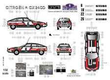 [FFSMC Productions] Decals 1/32 Citroën CX 2400 GTi Acropolis Rally 1978