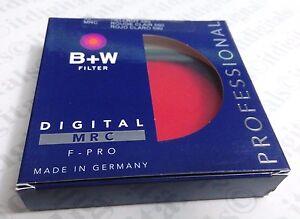 B+W 62mm F-Pro 090M MRC 590 Red Black & White Contrast Filter 25A 62 mm 66-10361