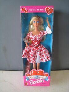 1995 Mattel Barbie Valentine Sweetheart NRFB 14644 Lot#F76