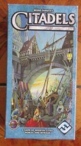 CITADELS by Fantasy Flight - 2004 version with DARK CITY EXPANSION Complete VGC