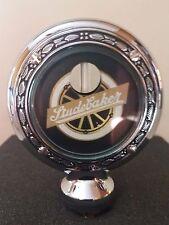 "Studebaker Stude Boyce Senior Motometer Chrome With Wreath Rim 3-3/8"" Diameter"