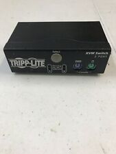 Tripp Lite KVM switch - 2 ports