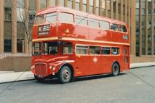 BUS PHOTO, EAST LONDON PHOTOGRAPH PICTURE, ROUTEMASTER RMC
