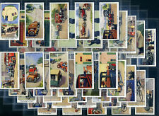 WILLS Cigarette Card Set SAFETY FIRST 1934 - Road Traffic Junction Signals Rules