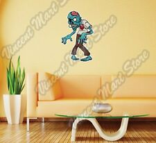 "Zombie Outbreak Monster Dead Gift Idea Wall Sticker Room Interior Decor 14""X25"""