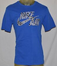 NEW NIKE AIR FASHION SWOOSH running Reflective Royal Blue mens X-large T-shirt