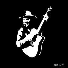 Garth Brooks Oracal White Decal Window Sticker Country Music Singer