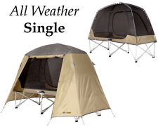 OZTRAIL ALL WEATHER (SINGLE) STRETCHER TENT CAMP COT SWAG MOZZIE DOME INSTANT