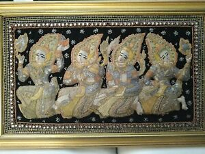 Wandbehang Burma Jahre '80