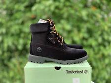 Timberland x Off White Virgil Abloh Black Velvet DS size 9 Supreme Kith Limited