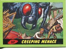 Mars Attacks Heritage Green Parallel Base Card #37    Creeping Menace
